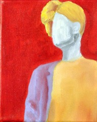 Steve Marriott / Can't Turn Back (2015) Oil on Canvas / 4 x 5 inches