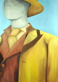Steve Marriott / The Dream is Always the Same (2015) / Oil on Canvas / 24 x 33 inches